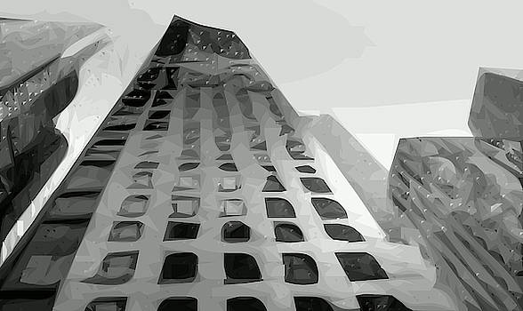 Buildings Skyscrapers Simplified by Tin Tran