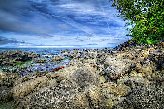 Bullman Beach from the Rocks by Spencer McDonald