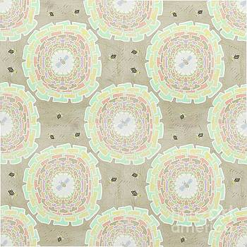Bumble Bee Seamless Pattern by Priscilla Wolfe