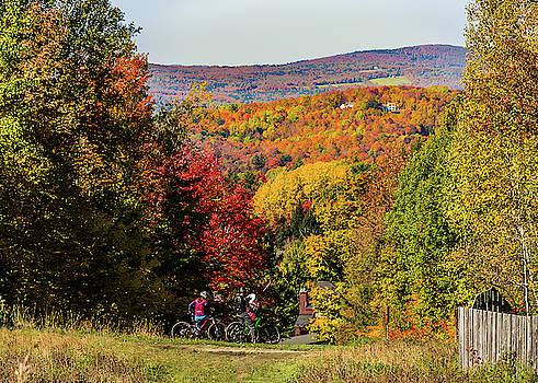 Burke Mountain Biking by Tim Kirchoff