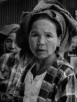 Burmese Woman by Timothy Leonard