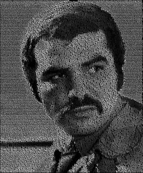 Burt Movies Mosaic by Paul Van Scott