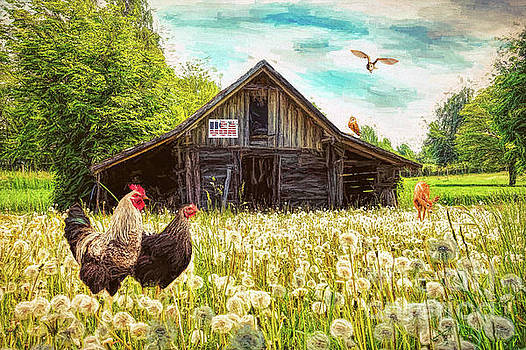 Busy At The Barn by Tina LeCour