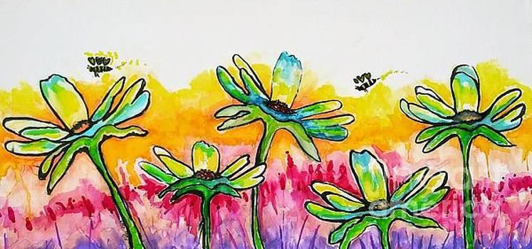 Busy Bee by Chrisann Ellis