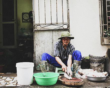 Butcher, Hanoi by Sabrina Pinksen