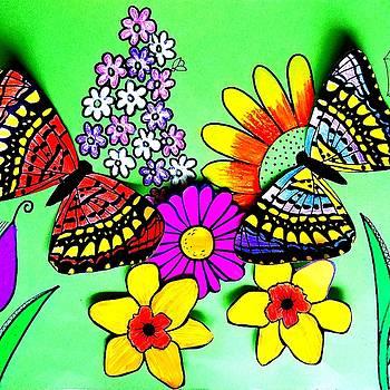 Butterflies by Vijay Sharon Govender