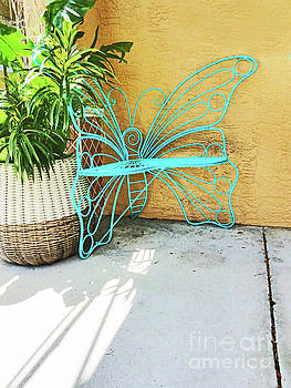 Sharon Williams Eng - Butterfly Bench 300