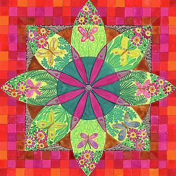 Butterfly Garden by Sandy Thurlow