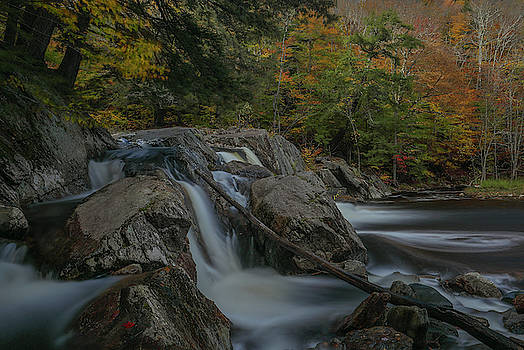Buttermilk Falls by Juergen Roth