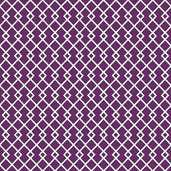 Byzantium Purple Diamond Design by Ross