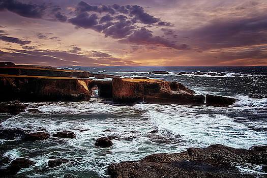 California Coastline by Maria Coulson