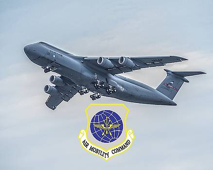 Robert Hayes - C5 Galaxy With Logo