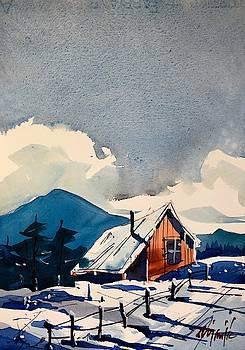 Cabin in the Snow 2 by Ugljesa Janjic