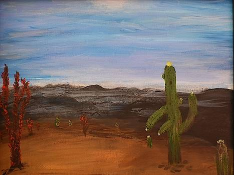 Cactus Bloom by Susan Voidets