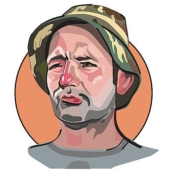 Caddyshack Bill Murray by Matt Hood