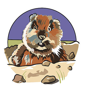Caddyshack Gopher by Matt Hood