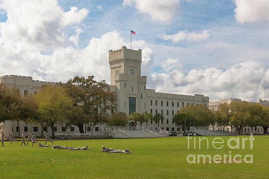 Dale Powell - Cadet Drills - The Citadel Military College