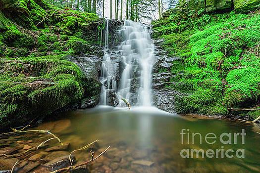 Caerfanel Waterfall by David MM Williams