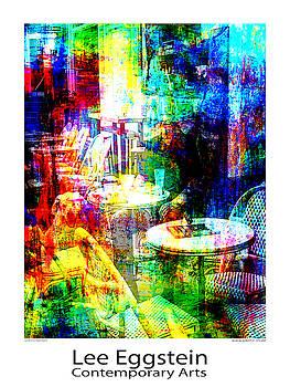 Cafeszene by Lee Eggstein