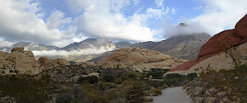 Calico Vista 1 Panorama by Alan Socolik