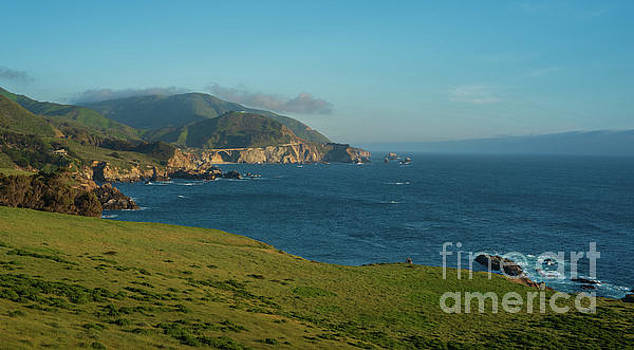 California Coast At Rocky Point by Mike Reid