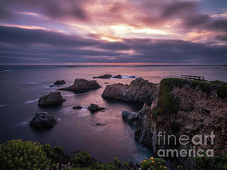 California Coast Evening Mood by Mike Reid
