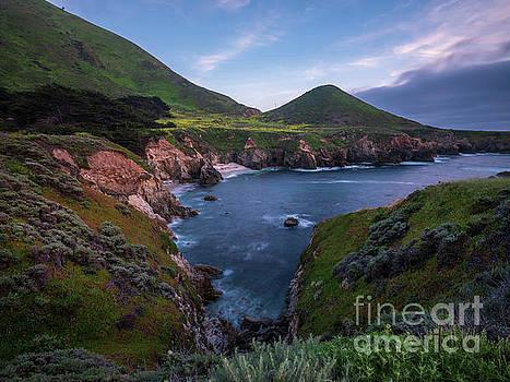 California Coastal Inlet Spring by Mike Reid