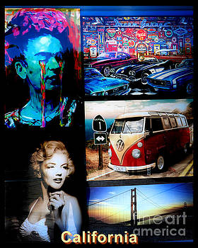 Diann Fisher - California Art Collage