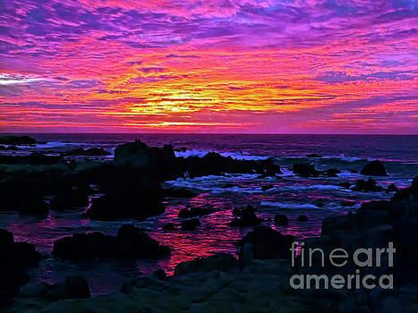 California sunset MONTBAY_013 by Howard Stapleton