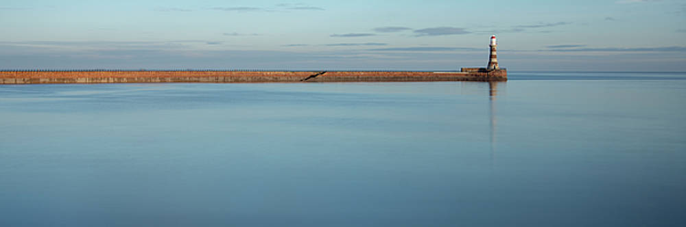 Calm Roker panoramic by Steev Stamford