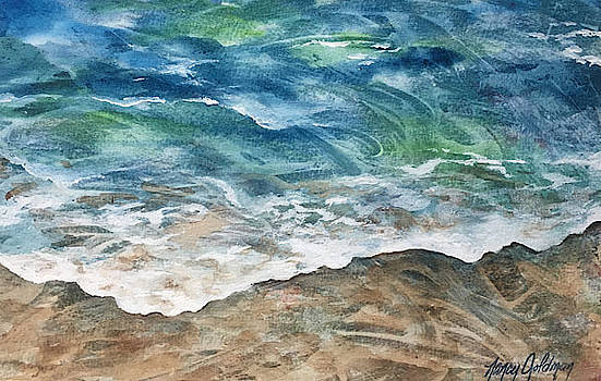 Calm Shore by Nancy Goldman
