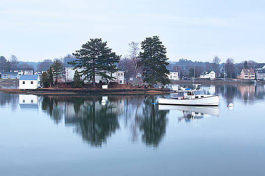 Calm Water at Round Island by Eric Gendron
