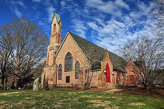 Calvary Episcopal Church Fletcher North Carolina II by Carol Montoya