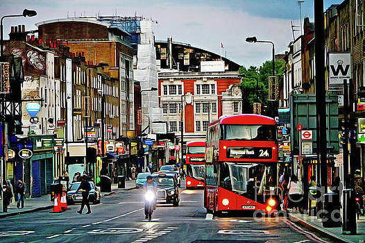 Camden Town London by Nidhin Nishanth