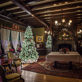 Campbell House Christmas by David Sams