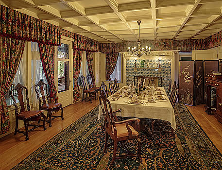 Campbell House Dining Room by David Sams