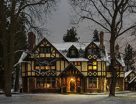 Campbell House in Winter by David Sams