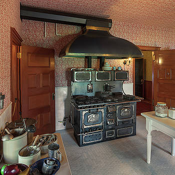 Campbell House Kitchen by David Sams