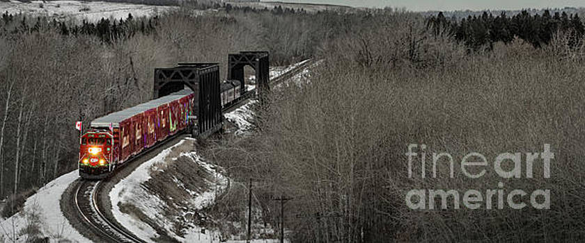 Canadian Pacific Holiday Train 2018 I by Brad Allen Fine Art