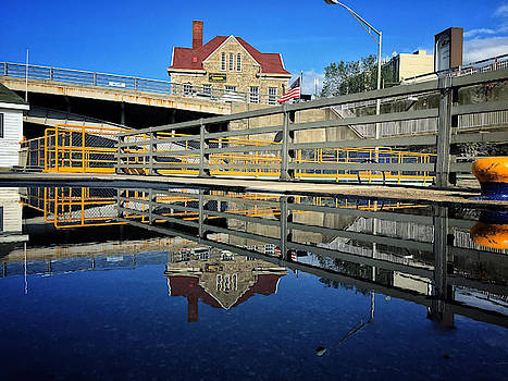 Canal Reflection by Johnathan Erickson