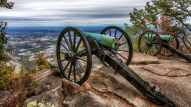 Susan Rissi Tregoning - Cannons Atop Lookout Mountain