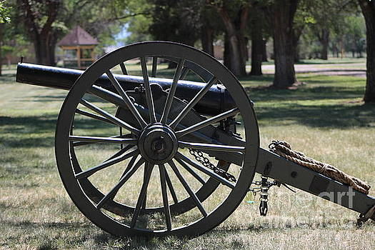 Canon at Fort Stanton New Mexico Military History by Colleen Cornelius