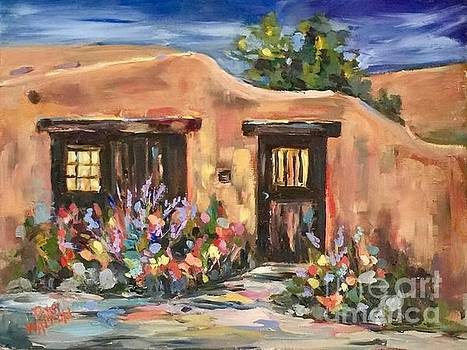 Canyon Road Casa by Patsy Walton