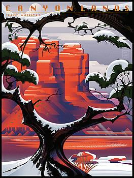 Garth Glazier - Canyonlands Studio Sedona Winter