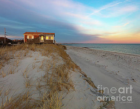 Michelle Constantine - Cape Cod Beach House at Sunset