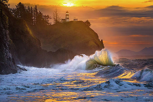 Chris Steele - Cape Disappointment Sunrise