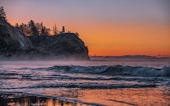 Cape Disappointment Sunrise by Marybeth Kiczenski