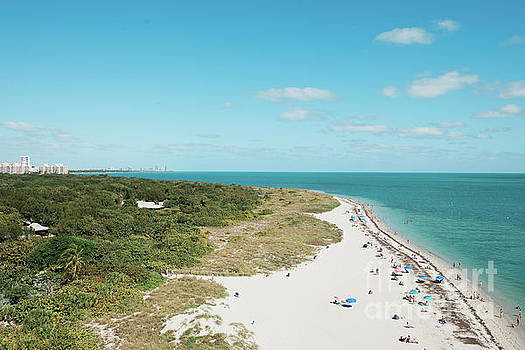 Cape florida as seen from above  by Ana Garcia