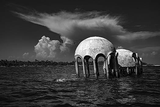 Cape Romano Domes 2019 by Joey Waves