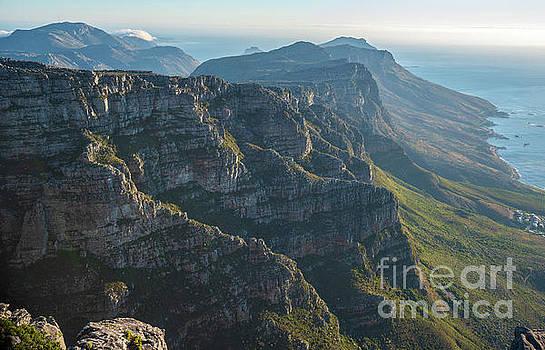 Cape Town 12 Apostles Dusk by Mike Reid